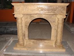 kaminverkleidungen marmor granit und sandstein marmor. Black Bedroom Furniture Sets. Home Design Ideas